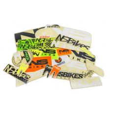 Samolepky na rám NS Bikes Frame Stickers Mix