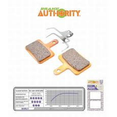 Brake Authority Burly - Shimano Deore brzdové destičky