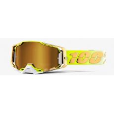 ARMEGA 100% - USA , brýle Feelgood - zlaté chrom plexi
