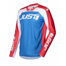 Dres JUST1 J-FORCE TERRA modro/červeno/bílý