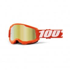 STRATA 2 Goggle Orange - Mirror Gold Lens