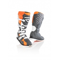 ACERBIS boty X-RACEoranž/šedá