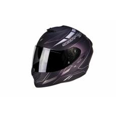 Moto přilba SCORPION EXO-1400 AIR CUP černo/stříbrný chameleon matná