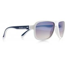 sluneční brýle RED BULL SPECT Sun glasses, LOOP-005, white/blue, white, brown gradient with light blue flash, 59-15-145