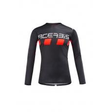 ACERBIS dres MX CHECKMATEčerná/červená