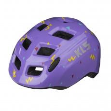 KELLYS Přilba ZIGZAG purple XS