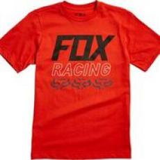 Dětské triko Fox Youth Overdrive Ss Tee Orange
