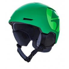helma BLIZZARD Viper ski helmet junior, dark green matt/bright green matt