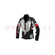 bunda TERRANET windout, SPIDI (černá/červená/šedá)