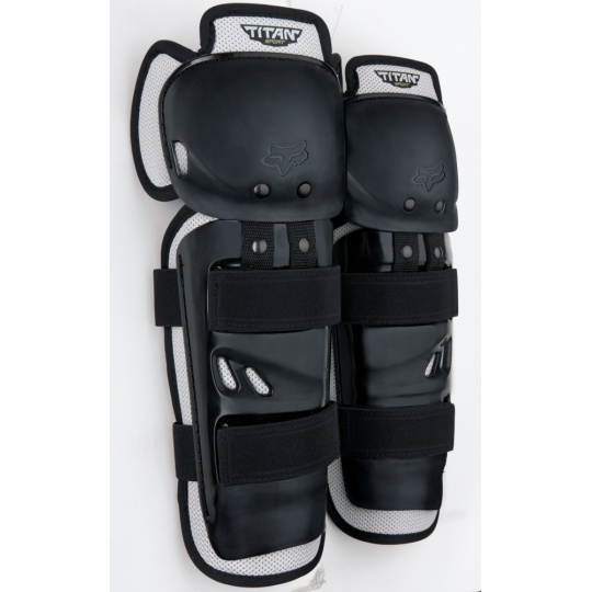 Chrániče kolen a holení FOX Titan Sport Knee/Shin Guards Black OS