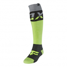 Pánské ponožky Fox Fri Thick Sock - Afterburn Fluo Yellow