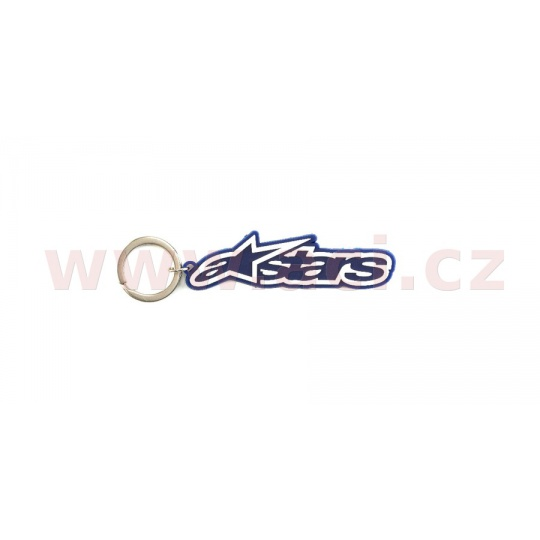 klíčenka BLAZE KEY FOB, ALPINESTARS (modrá)