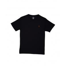 Dětské triko Volcom Stone Blank Bsc Ss Black
