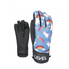 Dětské rukavice Level Juke JR Orange 5.5 Jr