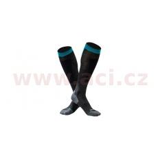 ponožky SNOWFLAKE - wool, UNDERSHIELD (černá)