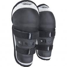 Dětské chrániče kolen a holení Fox Racing PeeWee Titan Knee/Shin Guard Black/Silver OS