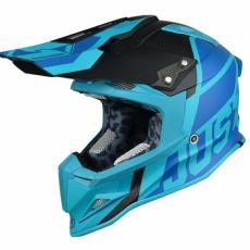 Moto přilba JUST1 J12 UNIT světle modrá