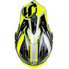 Kšilt JUST1 J12 FLAME žluto/černý