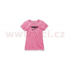 triko HERITAGE BLAZE, ALPINESTARS, dámské (růžové)
