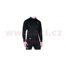 termoprádlo s dlouhým rukávem a zvýšeným límcem Warm Dry Thermal, OXFORD (černé)