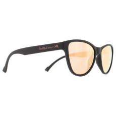 sluneční brýle RED BULL SPECT Sun glasses, SHINE-003P, matt black, smoke with peach mirror POL, CAT3, 53-16-145