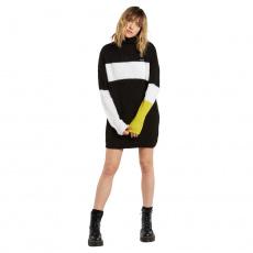 Dámské šaty Volcom Stormstone Dress Black