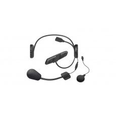 Bluetooth handsfree headset 3S PLUS pro skútry pro integrální přilby (dosah 0,4 km) včetně pevného mikrofonu, SENA
