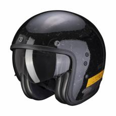 Moto přilba SCORPION BELFAST SHIFT černo/zlatá
