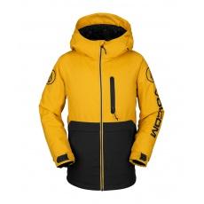 Dětská bunda Volcom Holbeck Ins Jacket Resin Gold