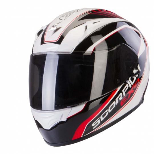 Moto přilba SCORPION EXO-2000 AIR PERFORMER pearl bílo/černo/červená
