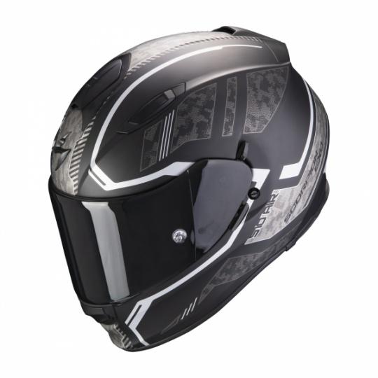 Moto přilba SCORPION EXO-510 AIR OCCULTA matná černo/stříbrná
