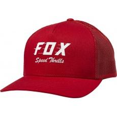 Dámská čepice Fox Speed Thrills Trucker Hat Chilli