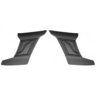 čelní kryty vrchní ventilace pro přilby Cyklon, CASSIDA - ČR (černá matná, pár)