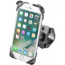 Držák na moto INTERPHONE CELLULARLINE MOTO CRADLE  pro Apple Iphone 6 Plus, 7 Plus, 8 Plus černý