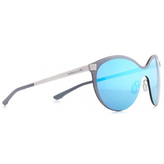 sluneční brýle RED BULL SPECT Sun glasses, GRAVITY3-005, silver, black, smoke with blue mirror, 128-135