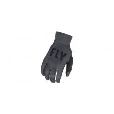 rukavice PRO LITE 2021, FLY RACING (šedá/černá)