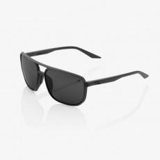 KONNOR AVIATOR SQUARE - Matte Black - Black Mirror Lens