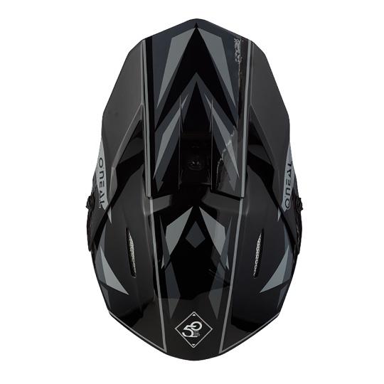 Přilba O´Neal 3Series TRIZ černá/šedá