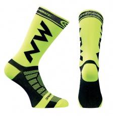 Cyklo ponožky Northwave Extreme Pro ocks Yellow Fluo/Black