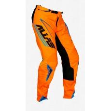 Motokrosové kalhoty ALIAS MX A1 ANALOGUE černo/oranžové 2063-374