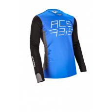ACERBIS motokros dres MX J-RACEmodrá/bílá