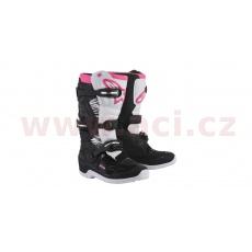 boty STELLA TECH 3 2022, ALPINESTARS (černé/bílé/růžové)