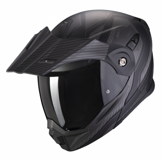 Moto přilba SCORPION ADX-1 TUCSON matná černo/carbon černá