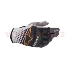 rukavice TECHSTAR 2020, ALPINESTARS (šedá/černá/měděná)