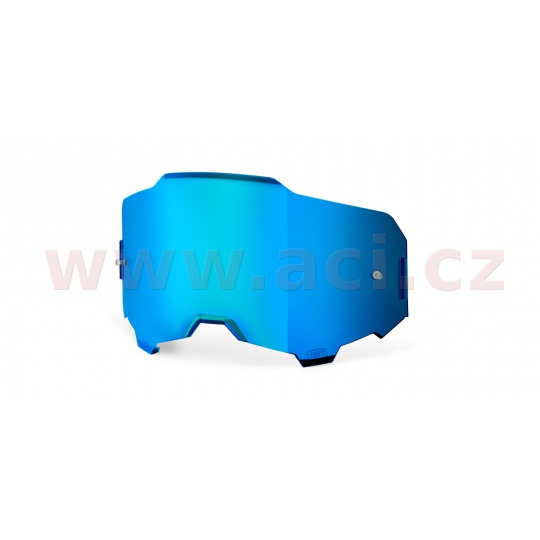 plexi ARMEGA, 100% (modré chromové, Anti-fog)