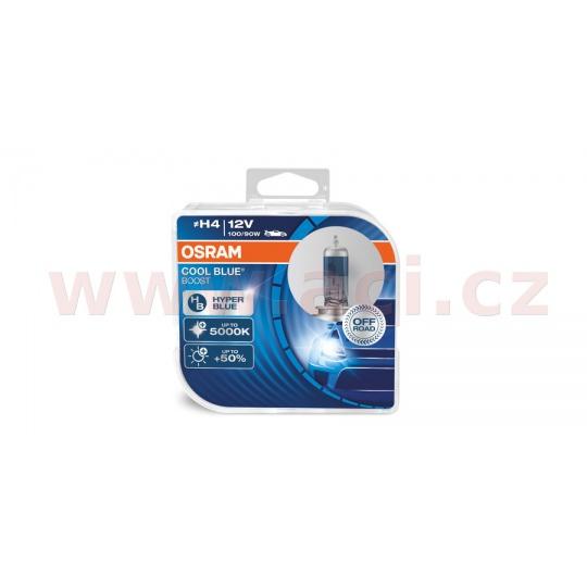 žárovky H4 100/90W (patice P43t) OSRAM COOL BLUE BOOST (bez homologace) (2 ks v boxu)