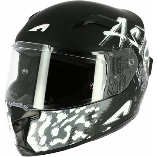 Moto přilba ASTONE GT3 TIGER matná černá