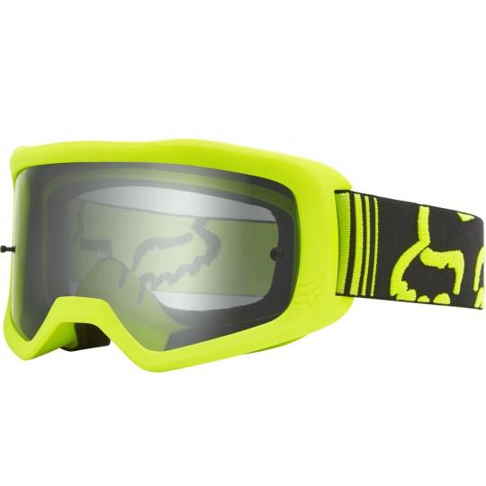 Race brýle Fox Main Race Goggle Fluo Yellow