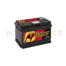 60Ah baterie 480A, levá BANNER Starting Bull 241x175x175