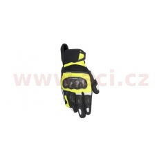 rukavice SP X AIR CARBON, ALPINESTARS (černé/žluté fluo/bílé)